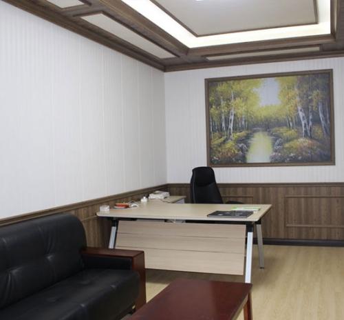 办公室集成墙面