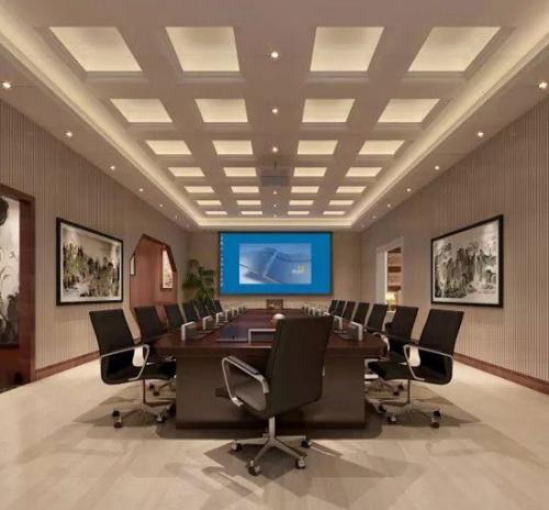 会议室集成墙面效果